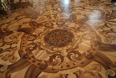 Wood inlay floor, Winter Palace, St. Petersburg