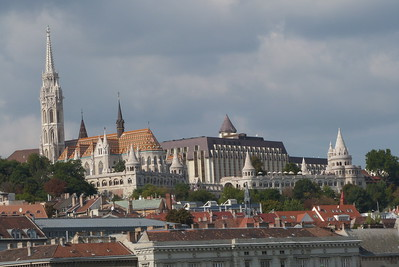 The Matthias Church and Fisherman's Bastion, Budapest, Hungary