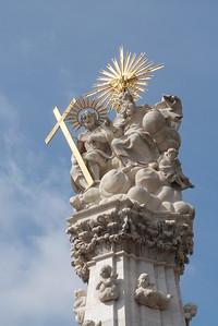 Holy Trinity Column, Budapest, Hungary