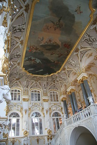 The Jordan Staircase, at the entrance to the Winter Palace, St. Petersburg