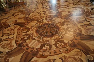 Wood inlay floor, Winter Palace, St. Petersburg