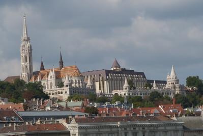 The Matthias Church and Fisherman's Bastion, Budapest, Hungary