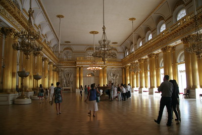 The Armorial Hall, Winter Palace, St. Petersburg, Russia