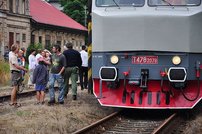 The Locals were out in force at Jindřichovice pod Smrkem (05.07.2013)