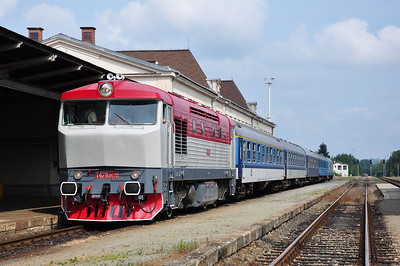 749 240 at Liberec during a short break (06.07.2013)