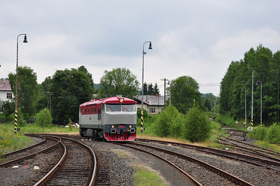 749240 runs round at Mikulášovice dol.n. (05.07.2013)