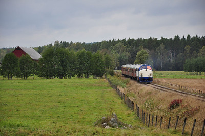 Runpast at Alseda between Vetlanda and Kvillsfors (22.09.2013)