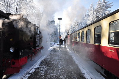 A very cold and steamy affair at Drei Annen Hohne (25.01.2014)