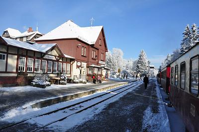 A picture postcard Drei Annen Hohne Bahnhof (25.01.2014)