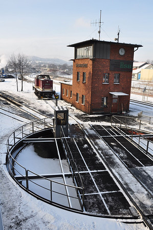 Wernigerode turntable and box. All very authentic (25.01.2014)