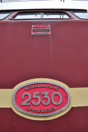 Number plate and builder's plate of 2530 (07.09.2013)