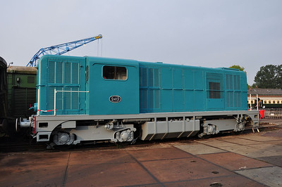 Another Alsthom product ex-NS 2412 on Beekbergen shed (07.09.2013)