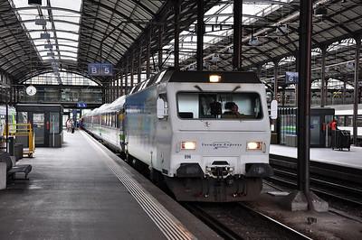 Südostbahn 456096 at Luzern with IR2429, 1740 Luzern - Romanshorn (25.03.2013)