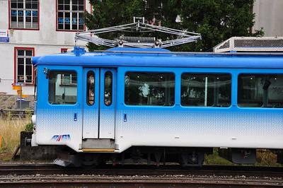 Rigi-Bahn EMU stabled at Arth-Goldau (24.08.2013)