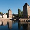 Petite France from Barrage Vauban, part of Strasbourg