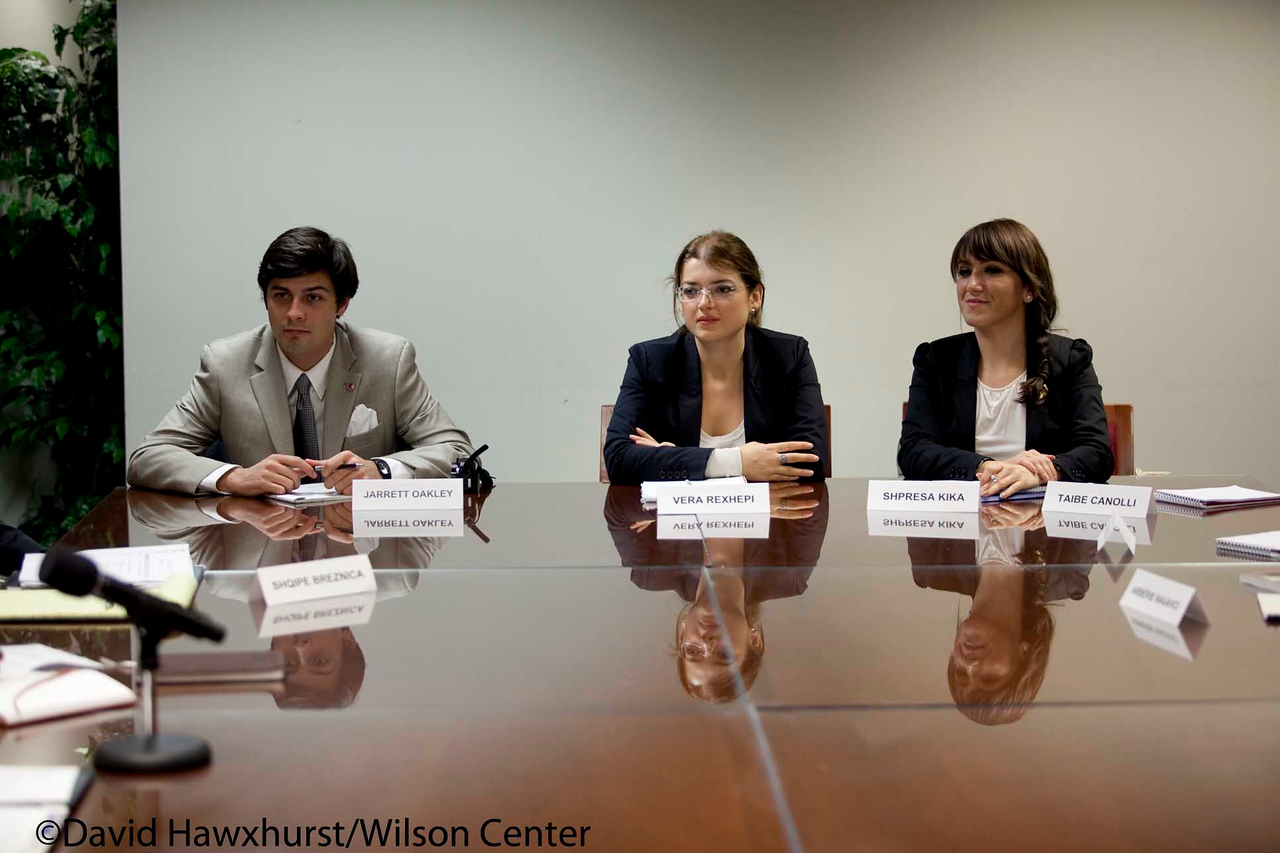 Private meeting with Representatives of the National Albanian American Council