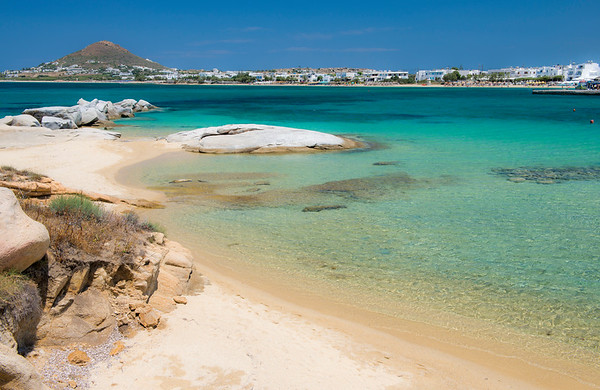 Agia Anna Beach, Naxos Greece