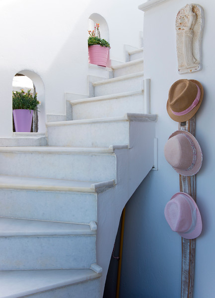 Apartment Stairwell, Naxos Greece