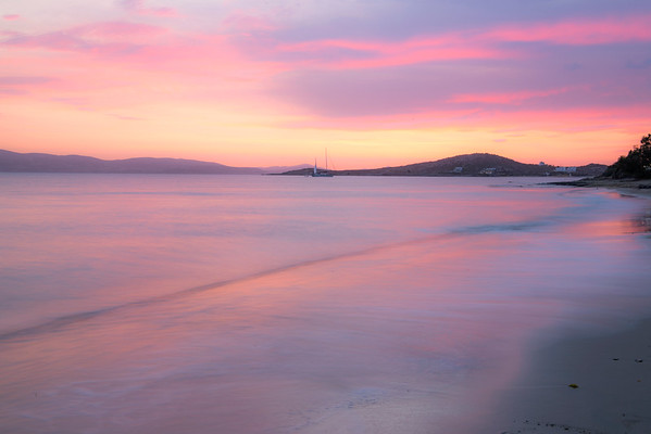 Agia Anna Beach Sunset