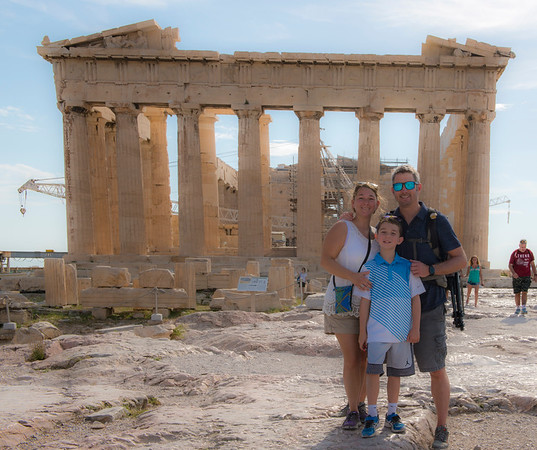 Visiting the Acropolis!