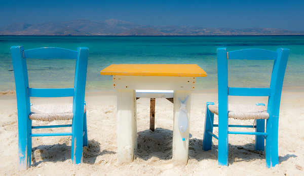 Agia Anna Beach, Naxos Greece