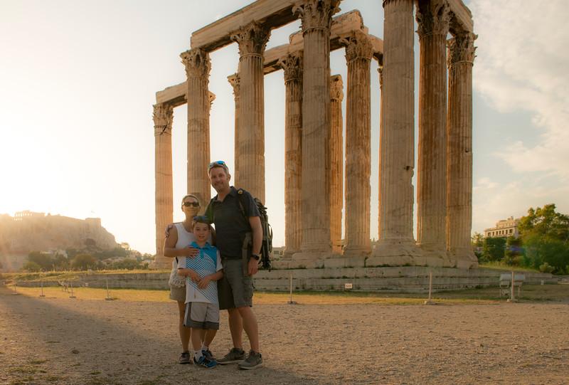 Temple of Zeus, Athens Greece