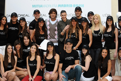 2009 madrid ball girls loreal (2)