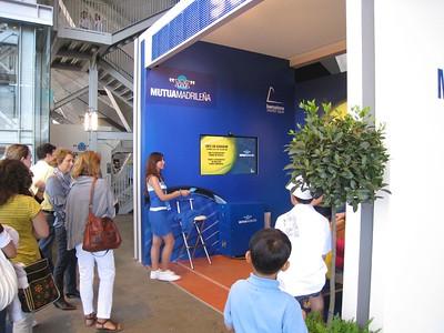 Tennis booths (2)
