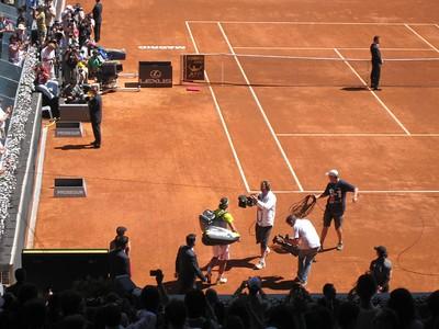 Rafael Nadal entering (2)