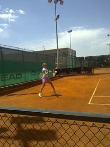 Svetlana Kuznetsova at Sanchez-Casal Academy