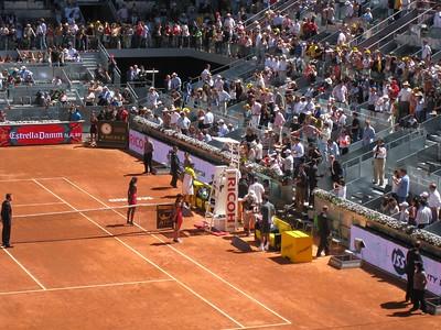 Rafael Nadal entering (9)