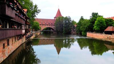 Reflection on the Pignetz River