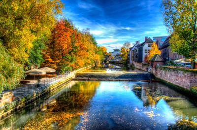 Locks on the River Pignetz