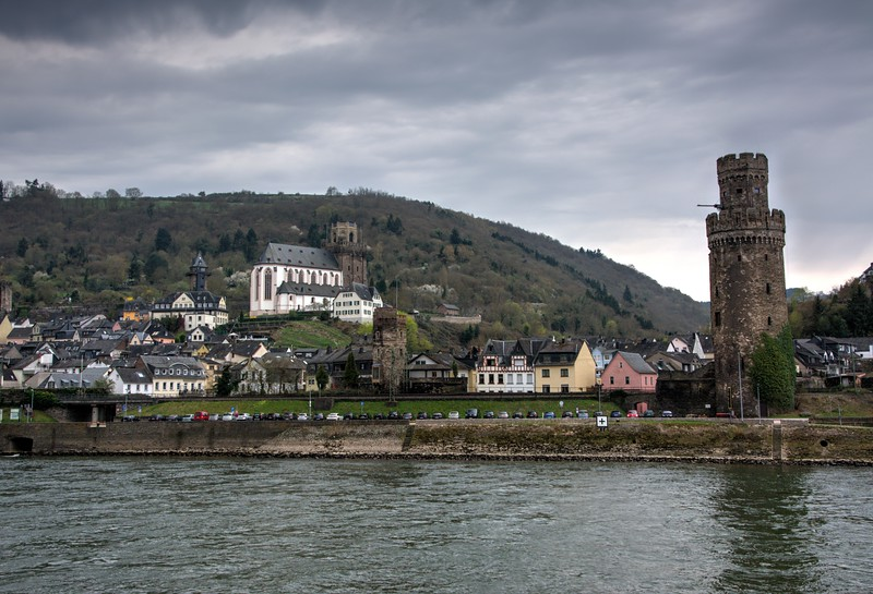 St. Martins Church,  Oberwesel, Germany
