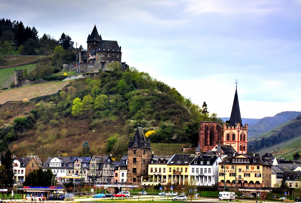 Goarshausen, Germany and Katz Castle
