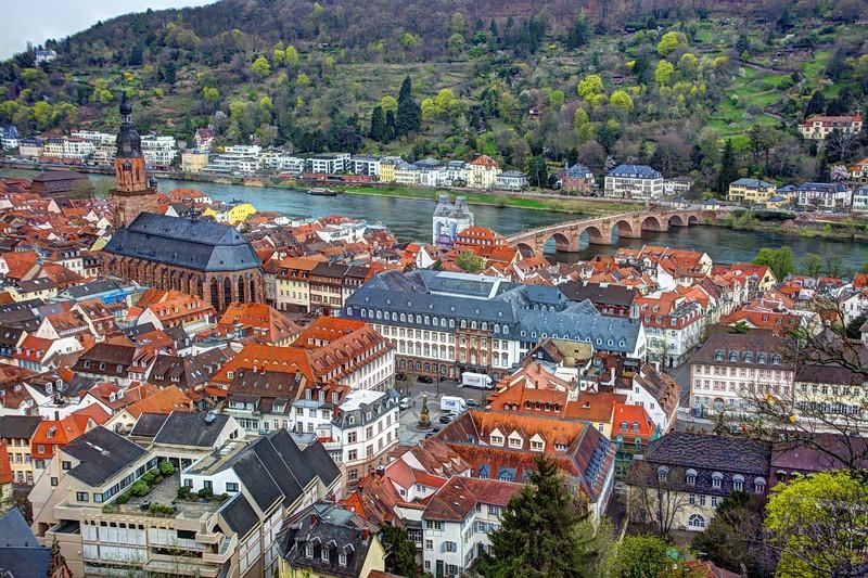 Heidelberg and the Neckar River Valley