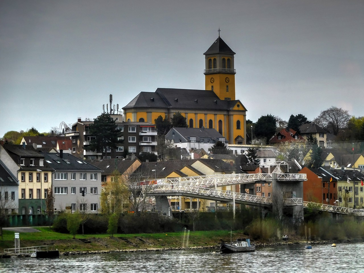 Church in Rudesheim, Germany
