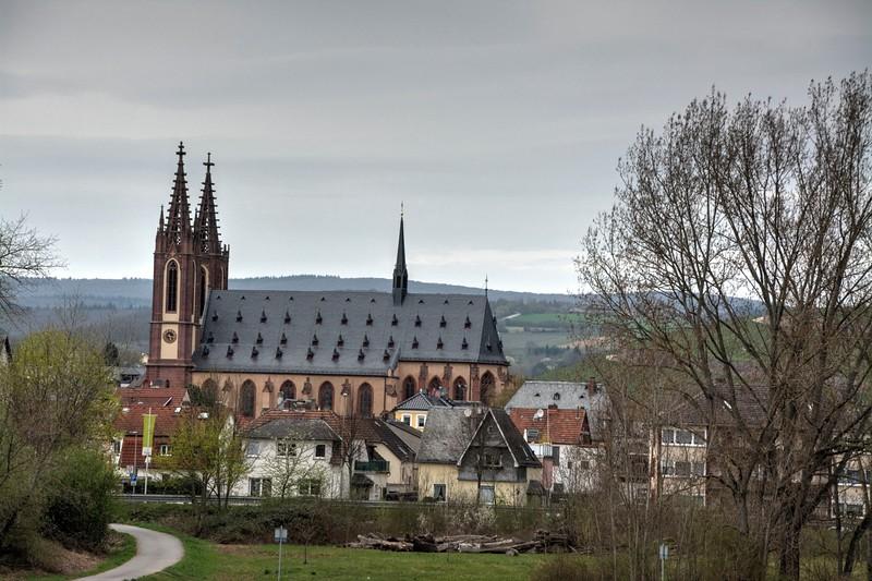Dom Rheingauer : Church in Geisenheim, Germany