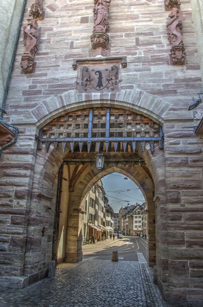 Spalentor City Gate, Basel