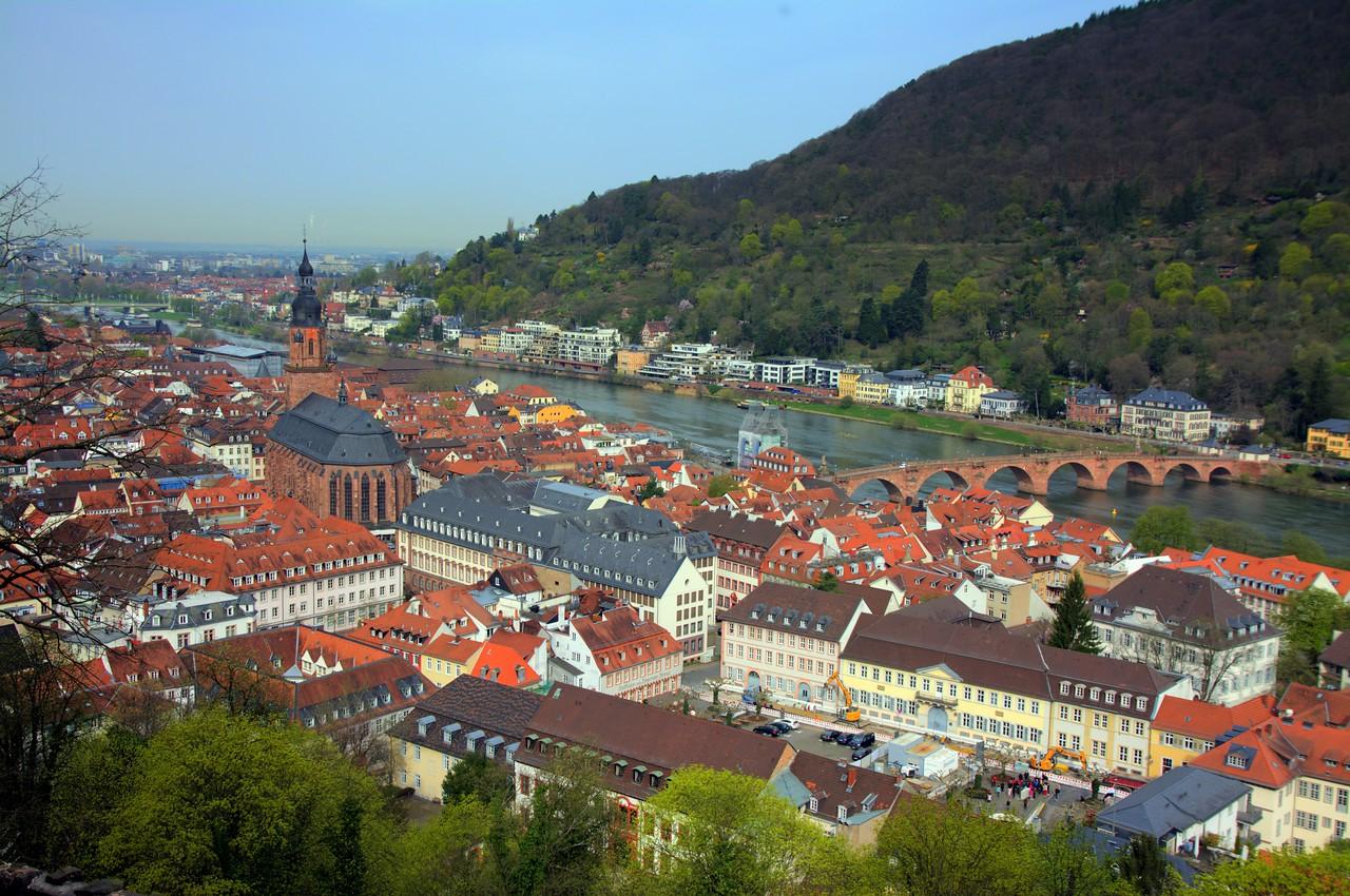 Heidelberg and the Neckar River