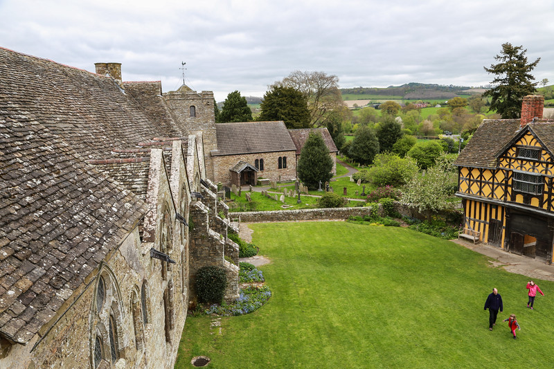 Stokesay Castle - the Grounds
