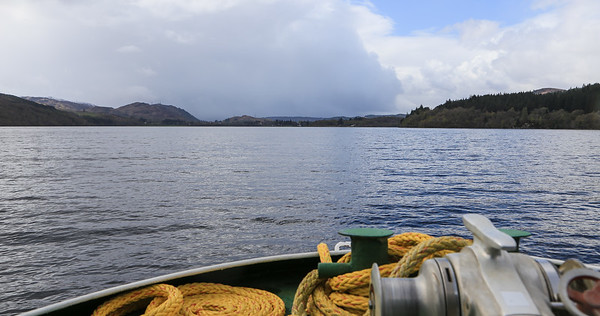 April 25 - Boatride on the Loch Ness River