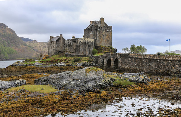 April 27 - Morning walk and the drive to the Castle Eilean Donan