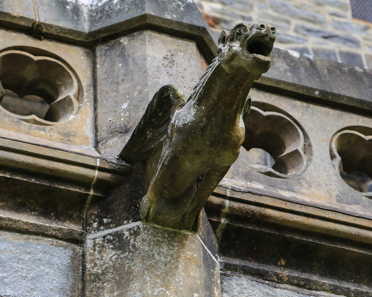 The Highlands Club, Fort Augustus - Gargoyles