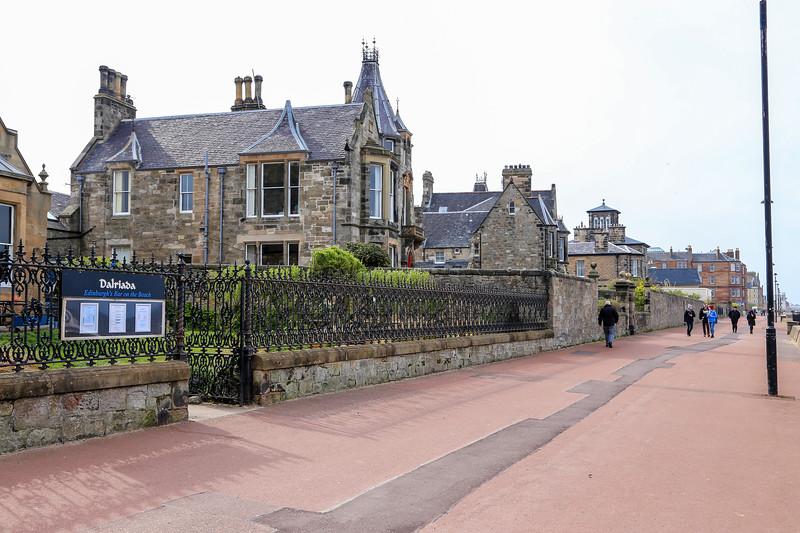 Edinburgh and the North Sea