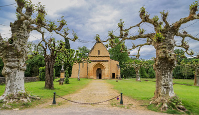 May 10 - The Church at Carsac-Ailac and the Dordogne River  tour in La Roque Gageac
