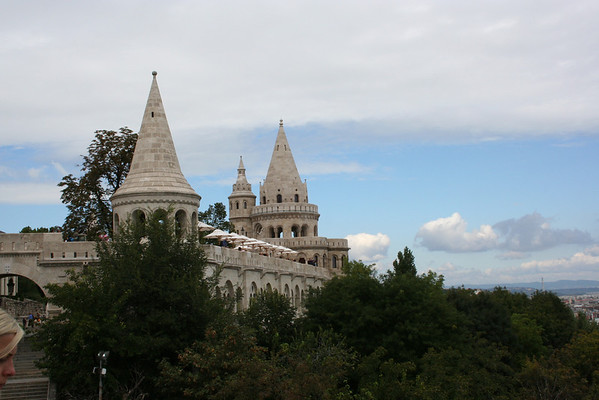 View from Castle Hill on the Buda side (did you know there is a Buda side and a Pest side?)
