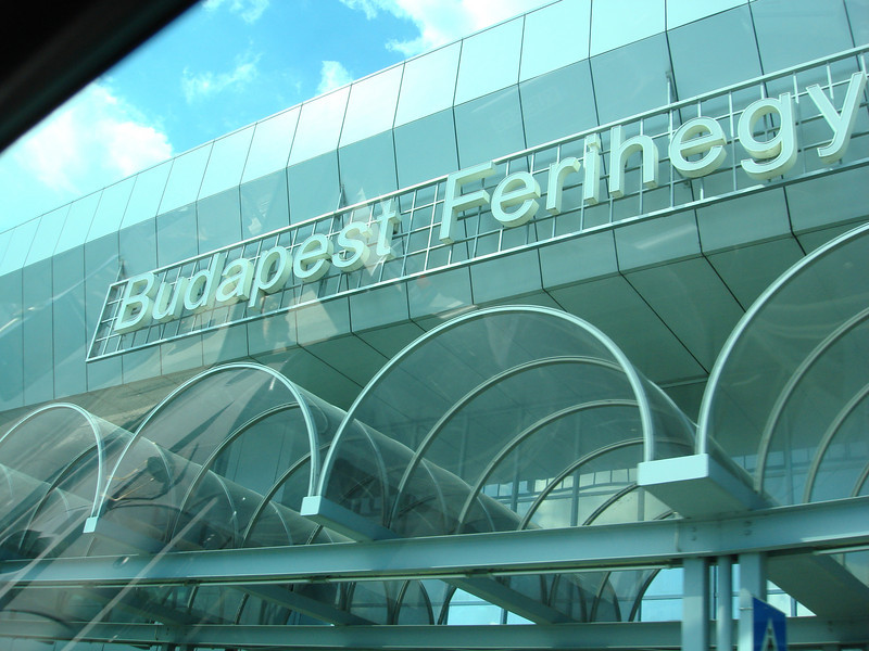 Arrived at the Budapest airport after about 13.5 hours of flying