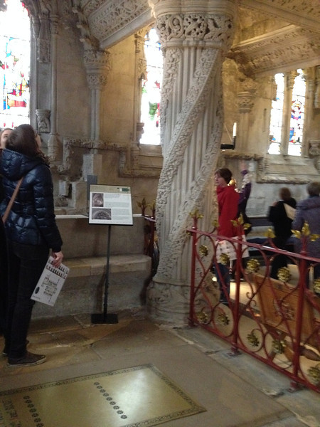 Rosslyn Chapel Apprentice Column
