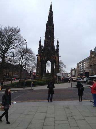 A memorial in Edinburgh